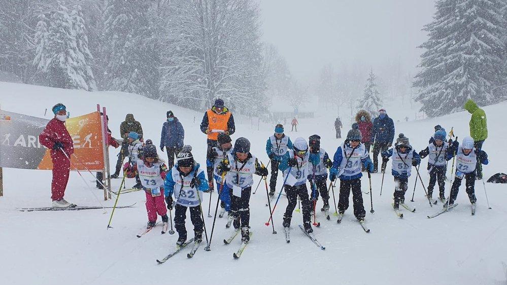 La finale des Storio nordix games, organiséemi-mars à La Vue-des-Alpes, a accueilli 134 enfants. Du jamais vu pour le Giron jurassien.