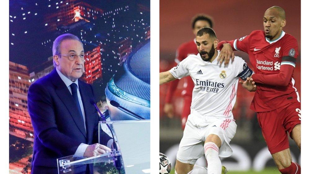 Récemment réélu à la tête du Real Madrid, Florentino Pérez est devenu le premier président de l'association. Liverpool fait aussi partie des 12 clubs fondateurs.