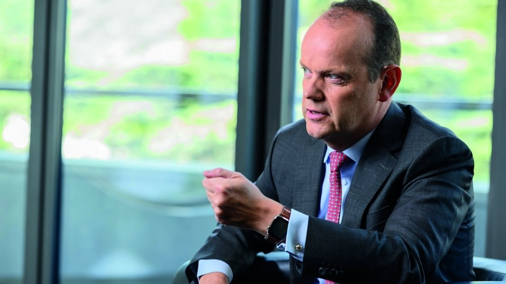 «Les réserves doivent servir à financer les frais de la pandémie», dit le directeur général du Groupe Mutuel, Thomas Boyer, qui annonce la redistribution de 50 millions aux clients.
