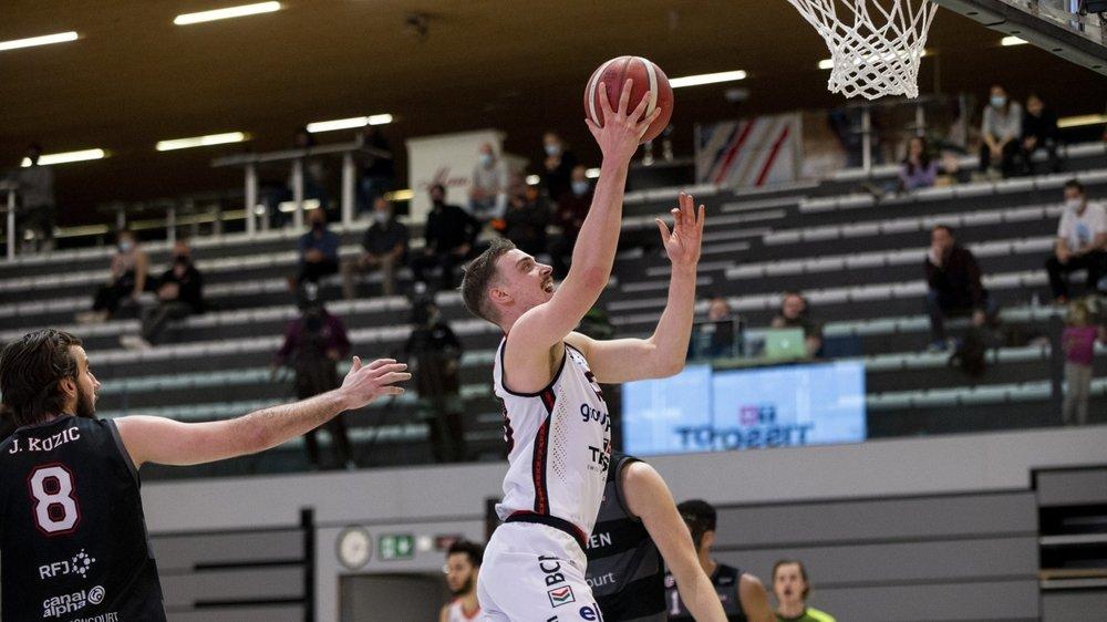 Sous les yeux de Juraj Kostic, Kilian Martin et Union Neuchâtel confortent leur quatrième place de SB League.