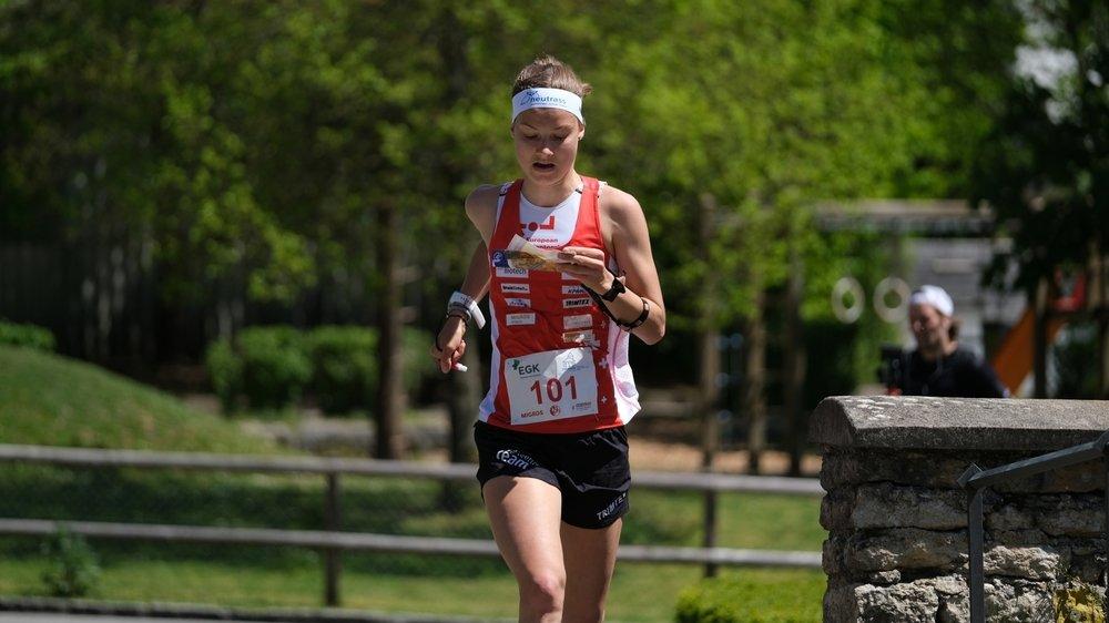 La Biennoise Simona Aebersold est l'une des favorites aux médailles en cette fin de semaine, à Neuchâtel.