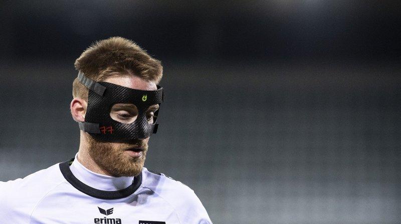 Xamax: Thibault Corbaz revient masqué mais sans peur