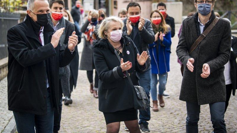 Conseil d'Etat neuchâtelois: trois PLR, deux socialistes et un Vert s'affronteront le 9 mai