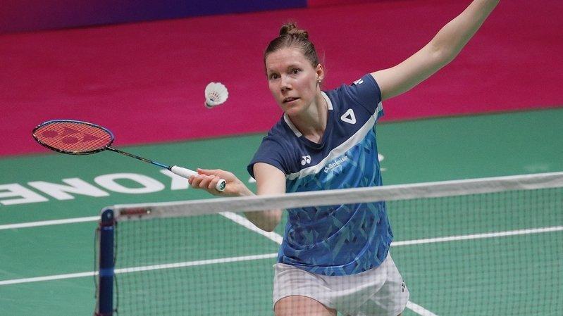 Badminton: abandon de Sabrina Jaquet au Portugal