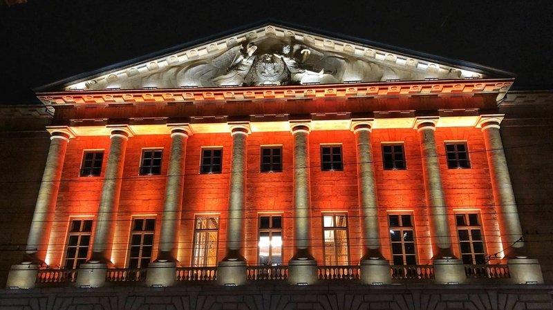 Pour fêter le titre du NUC, l'Hôtel de ville de Neuchâtel se parera d'orange