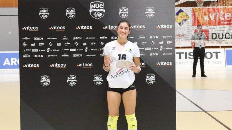 Volleyball: le NUC jette son dévolu sur une jeune libero