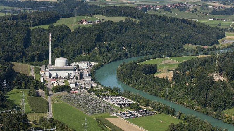 Nucléaire: les sols autour de la centrale de Mühleberg n'étaient pratiquement pas irradiés