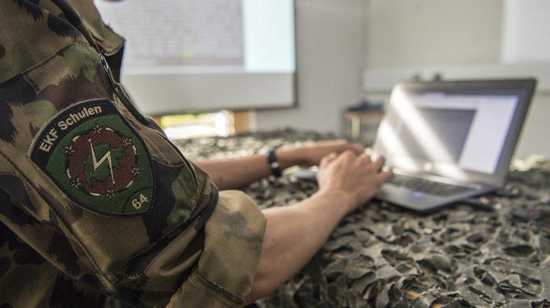 Armée: la Suisse met à jour sa stratégie de cyberdéfense