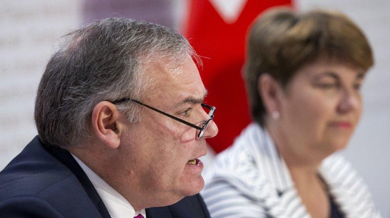 Confédération: le chef du Service de renseignement Jean-Philippe Gaudin s'en va