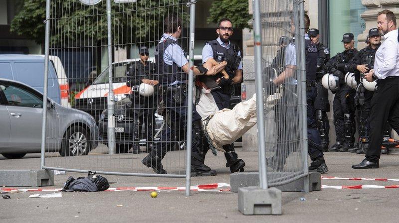 Blocage de Credit Suisse à Zurich: neuf activistes du climat condamnés, dont sept Romands