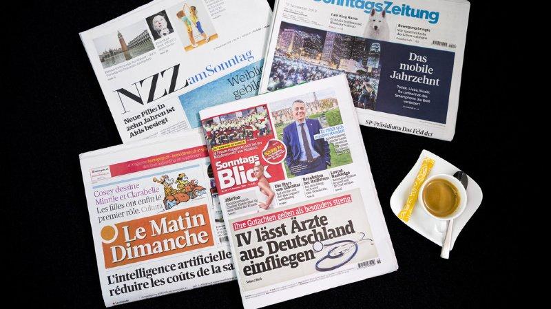 Revue de presse: pression des hôteliers, accord-cadre avec l'UE, loi CO2… les titres de ce dimanche