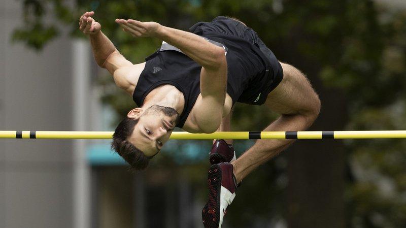 Athlétisme: le Vaudois Loïc Gasch bat le record de Suisse du saut en hauteur