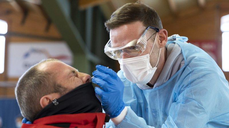Coronavirus: la Suisse compte 4905 nouveaux cas en 72 heures pour 71'805 tests, 16 morts