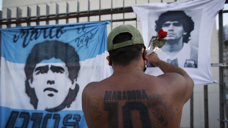 La légende argentine n'a pas bénéficié de soins adéquats.