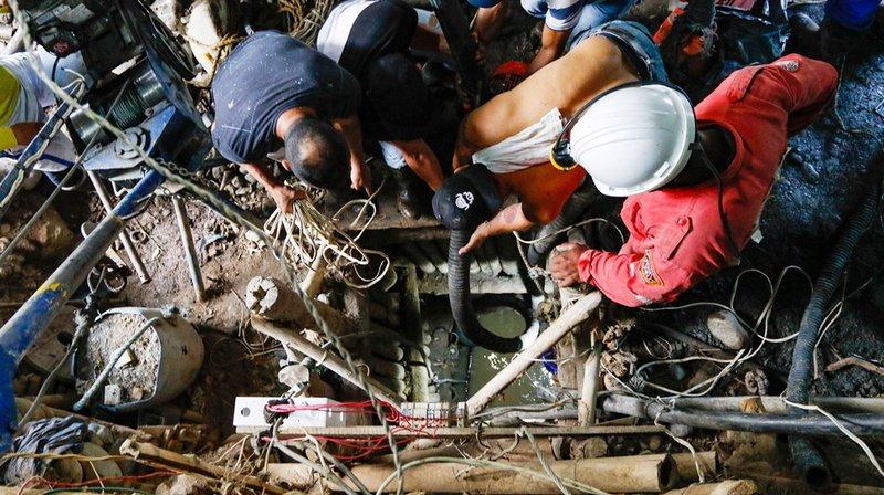 Colombie: course contre la montre pour sauver 11 mineurs bloqués sous terre