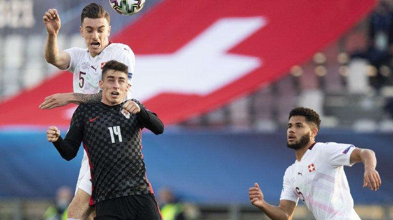 Football – Euro M21: la Suisse punie par la Croatie