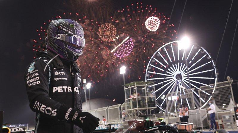 Automobilisme - Grand Prix de Bahreïn: Hamilton vainqueur après une grosse bagarre