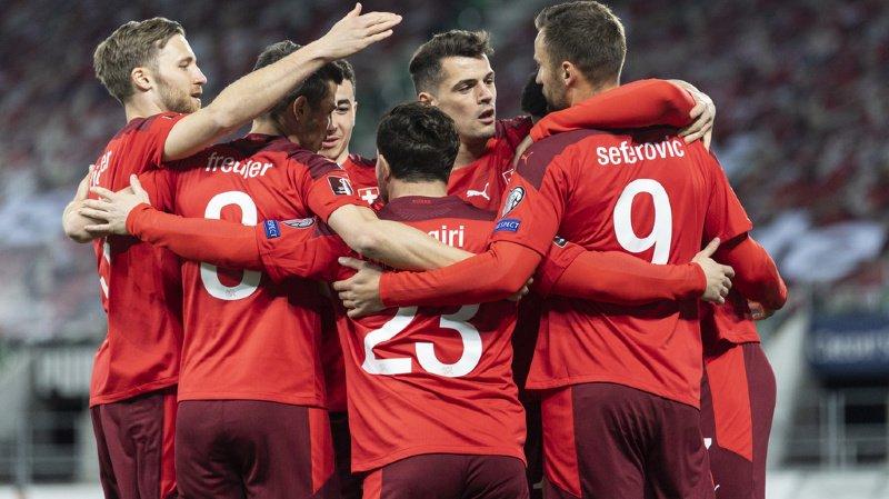 Football - Mondial 2022: la Suisse bat la Lituanie à St-Gall