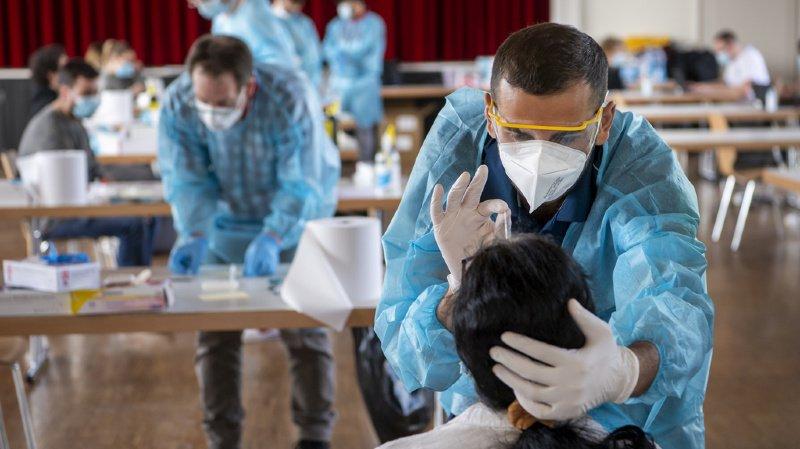 Coronavirus: la Suisse compte 2265 nouveaux cas pour 28'879 tests, 7,8% de positivité, 107 hospitalisations