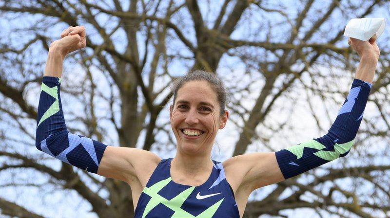 Athlétisme: le record de Suisse pour Fabienne Schlumpf au marathon de Belp