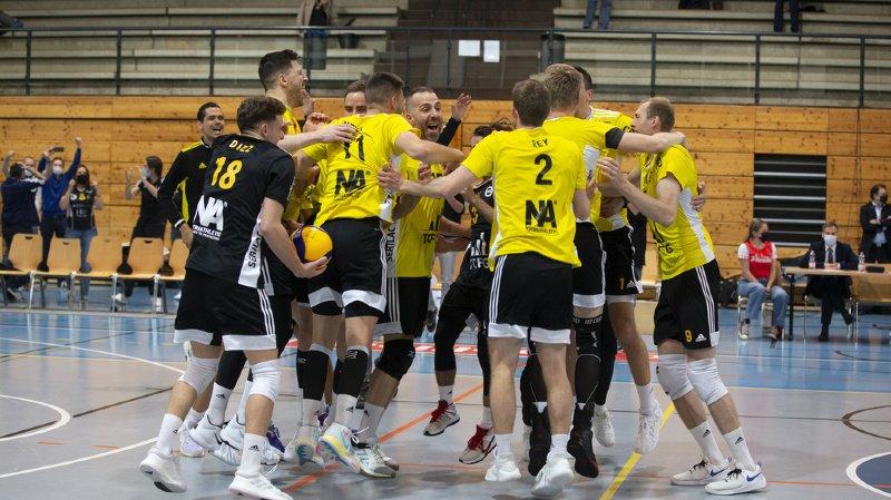 Volleyball: Chênois est champion de Suisse pour la septième fois de son histoire