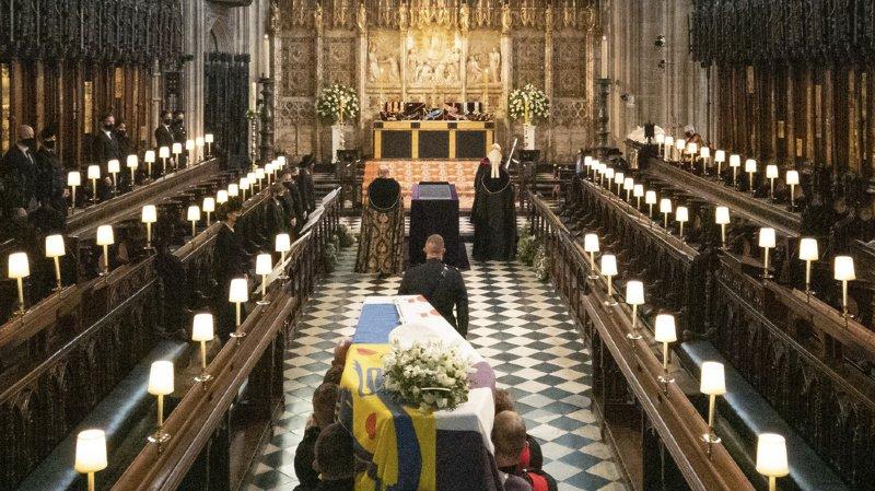 Grande-Bretagne: les obsèques du prince Philip vues par 13 millions de personnes