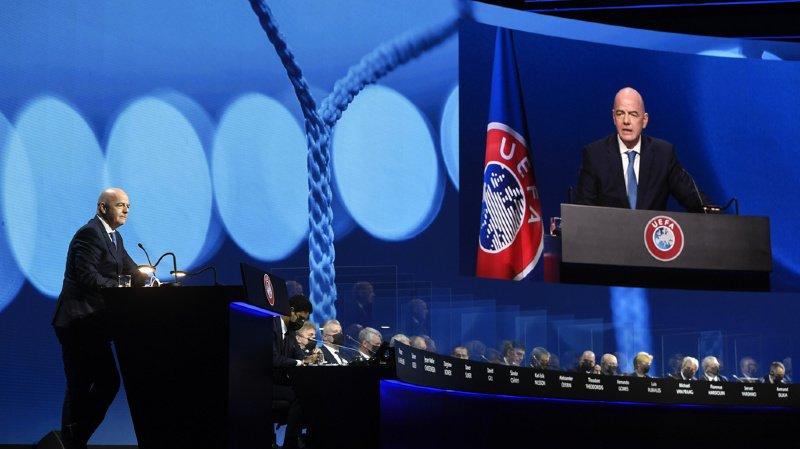Super League européenne: un tribunal interdit à l'UEFA et à la FIFA toute mesure