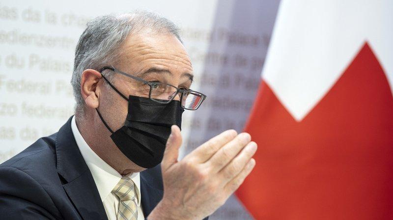 Coronavirus et tourisme: Guy Parmelin présente sa stratégie pour 2022