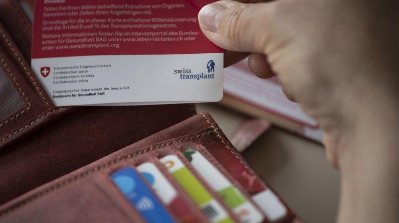 Don d'organes facilité: le National accepte le passage à un consentement présumé