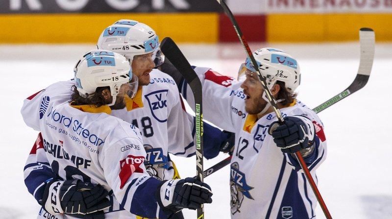 Hockey – National League: Zoug rejoint Genève-Servette en finale