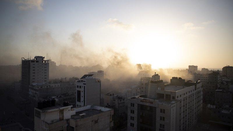 Proche-Orient: plus de 70 morts dans les affrontements entre Israël et le Hamas