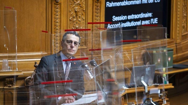 Accord-cadre: plusieurs élus se mobilisent pour sauver les relations avec l'UE