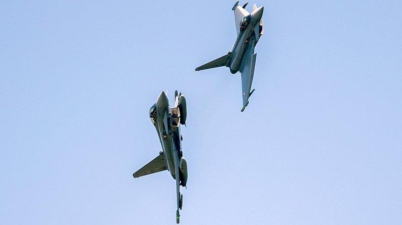 Avions de combat: les deux jets européens Rafale et Eurofighter partent favoris