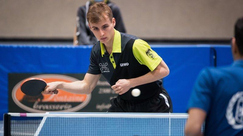 Tennis de table: Julien Märki a fondu pour retrouver son meilleur niveau