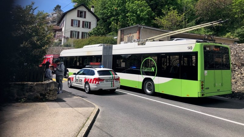 Un écolier blessé par un bus à Neuchâtel