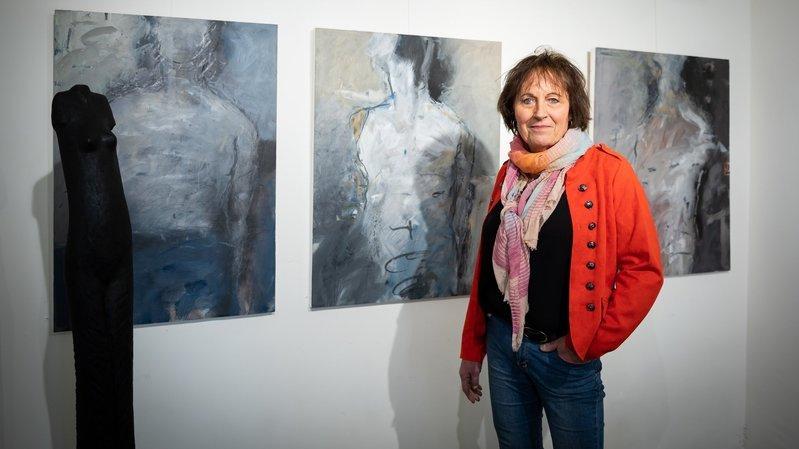 Artiste transgenre du Val-de-Travers, Anouk Landry se raconte dans ses peintures à la galerie 2016