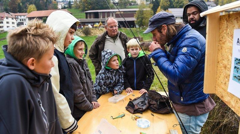 Les Ponts-de-Martel: à nouveau une formation pour jeunes pêcheurs