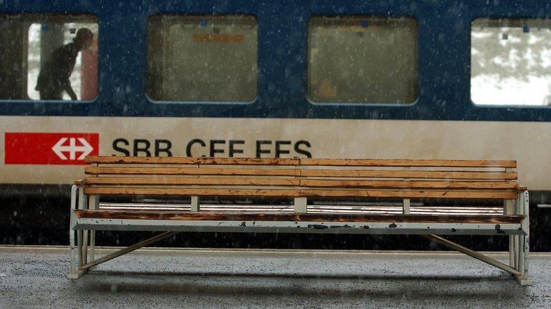 Prison ferme pour s'être masturbé dans le train, en gare de La Chaux-de-Fonds