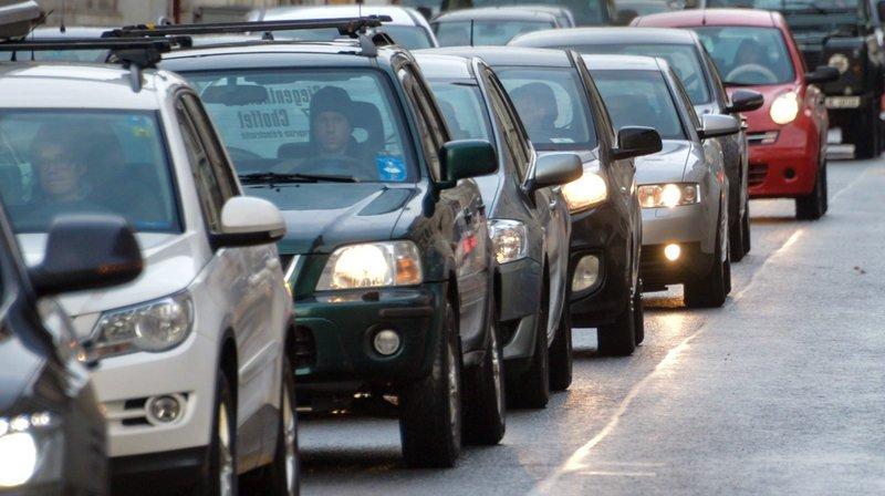 La Chaux-de-Fonds: une collision en chaîne fait une blessée