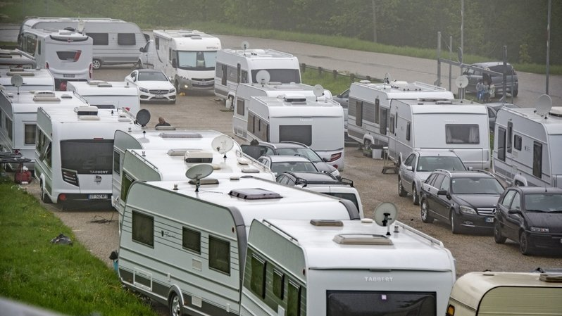 Berne: Cerlier crée une aire de séjour pour les gens du voyage