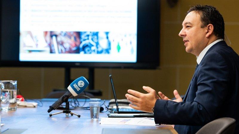 Le conseiller d'Etat Jean-Nat Karakash (image d'archives) a présenté ce jeudi une nouvelle aide au recrutement local.