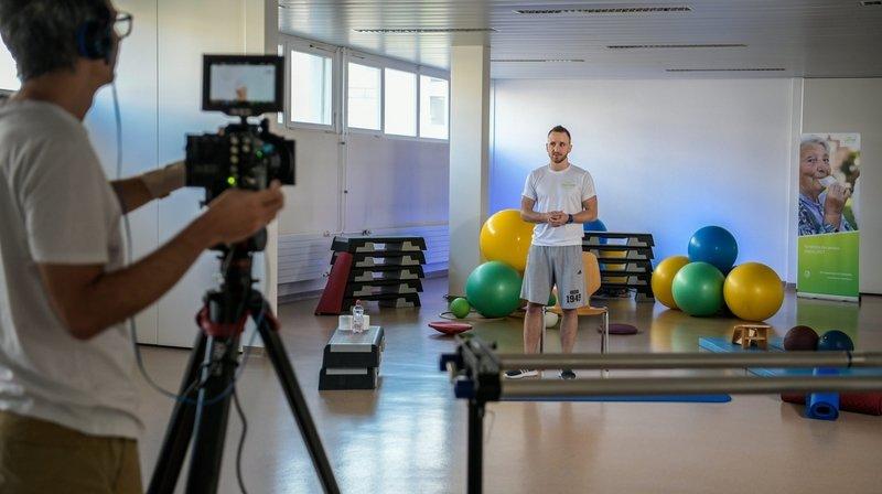 Les cours de gym seniors aussi en allemand