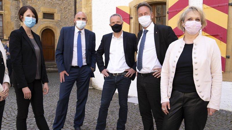 Conseil d'Etat neuchâtelois: la formation pour Crystel Graf, l'emploi pour Florence Nater
