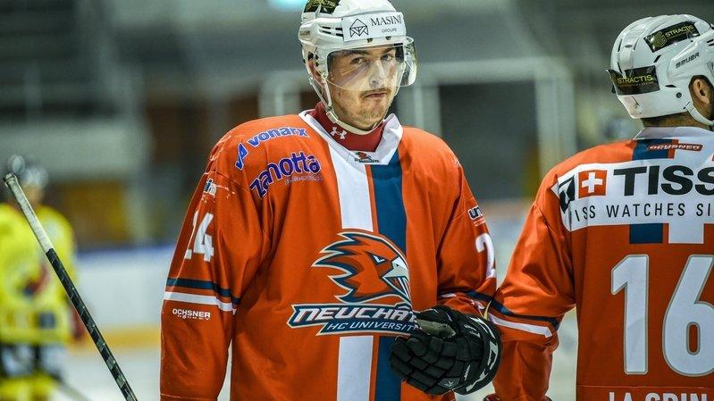 Le Chaux-de-Fonnier Lionel Girardin quitte le HC Uni Neuchâtel pour Franches-Montagnes