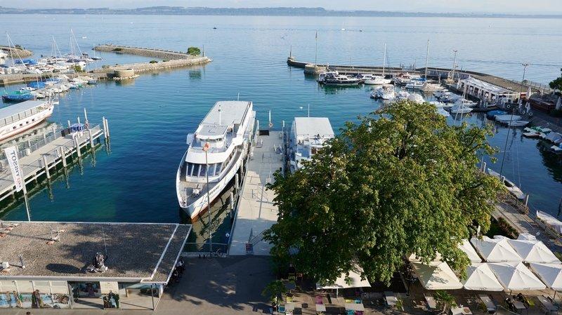 Lac de Neuchâtel: la Navigation reprend du service dès ce vendredi