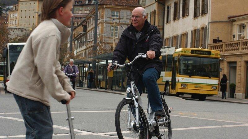 Vélo électrique: Neuchâtel motive ses seniors