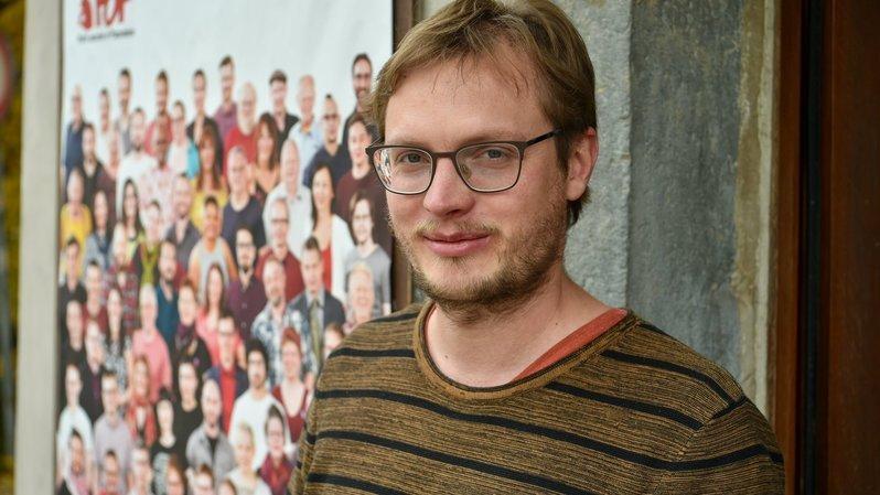 Julien Gressot, nouveau président du Parti ouvrier et populaire neuchâtelois