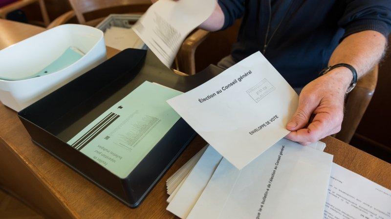 Il manque quelques feuillets dans certains bulletins électoraux du 18 avril prochain (ici le dépouillement des récentes élections communales l'automne dernier).
