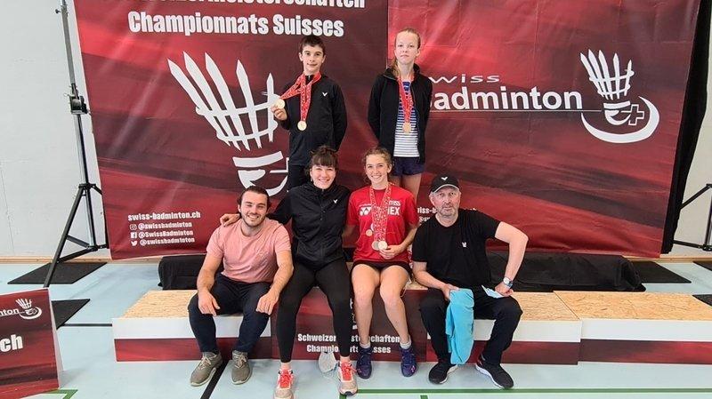 Badminton: moisson historique pour le BC Neuchâtel
