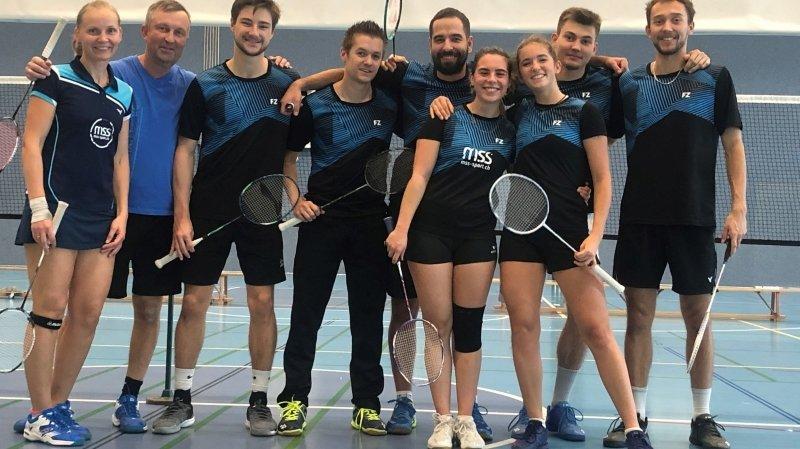 Badminton: Neuchâtel brigue une promotion en LNA